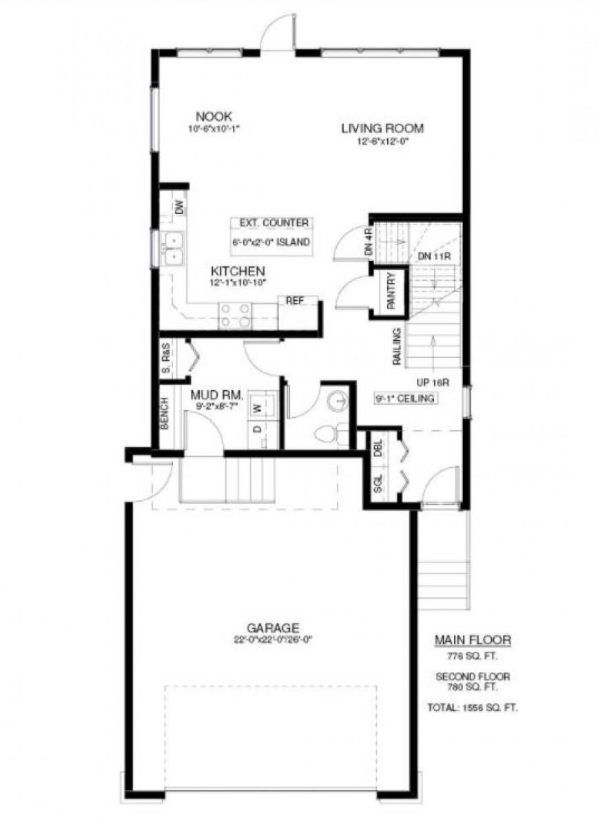 566 McFaull Crescent Floor Plan