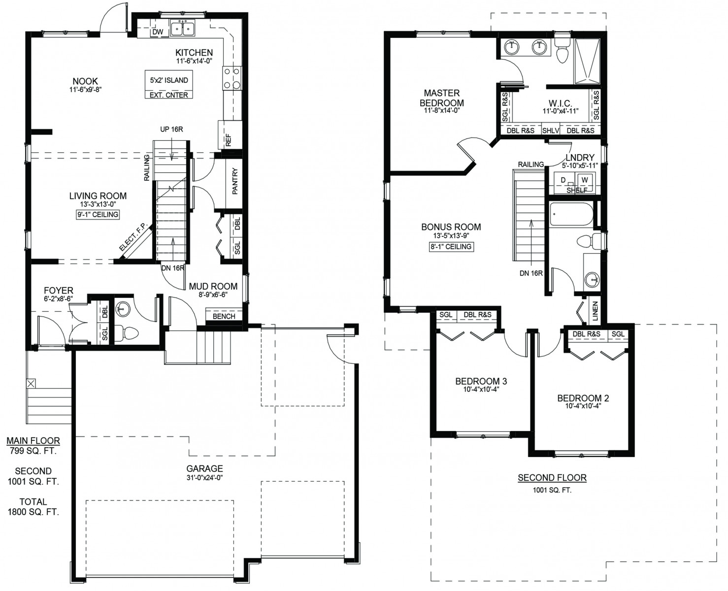 427 Hamm Lane Floor Plan