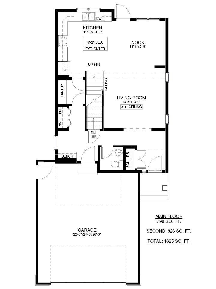 1348 Parr Hill Drive Floor Plan